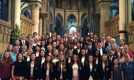 Centenary College Choir at Canterbury Cathedral