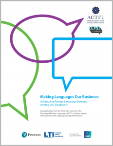 Making Languages Our Business report cover