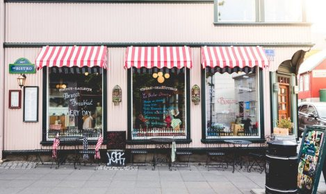 French bistro storefront